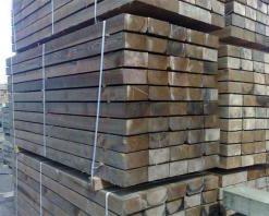 Brown Softwood (L)2400 x (W)250 x (H)125mm-0