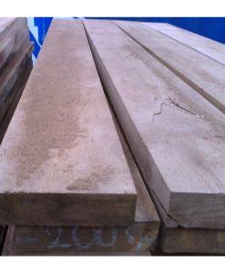 Oak Half Sleeper (L)2400x(W)200x(H)50mm-0