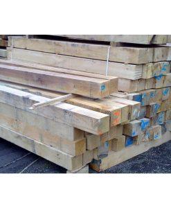 Oak Post (L)3000x(W)100x(H)100mm-0