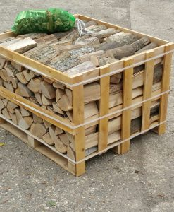 Kiln-Dried Ash Crate of Logs 0.8m-0