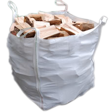 Kiln-Dried Ash Logs (0.75m3 Dumpy Bag ).-0