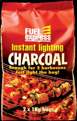 Instant Light Charcoal 2 x 1kg packs -0