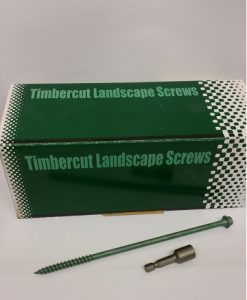 "Timbercut Landscape Screws 200mm approx 8"" pack of 50-0"