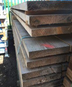 Softwood Untreated Sleeper 4m x 220mm x 40mm-0